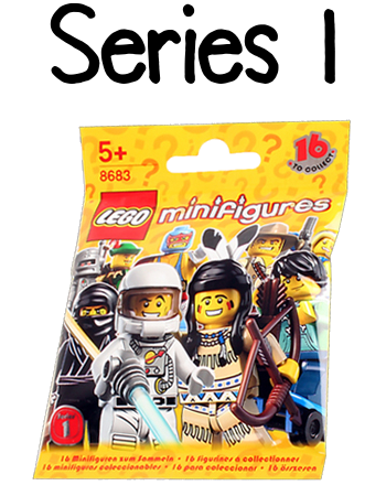 LEGO Minifigures Series 1 Packet