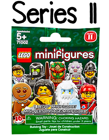 LEGO Minifigures Series 11 Packet