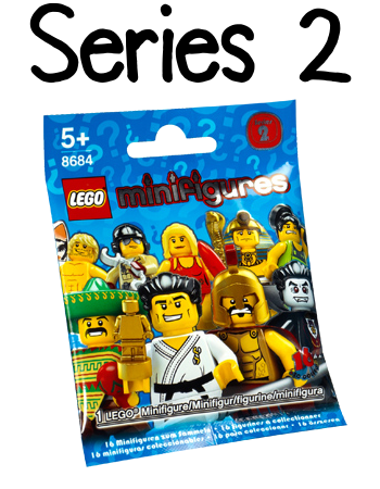 LEGO Minifigures Series 2 Packet