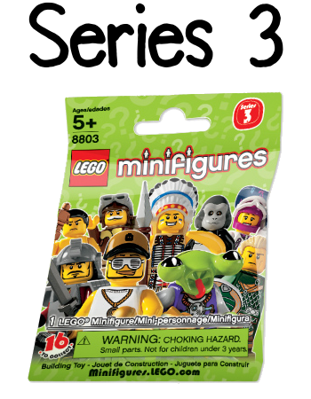LEGO Minifigures Series 3 Packet