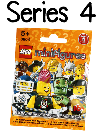LEGO Minifigures Series 4 Packet