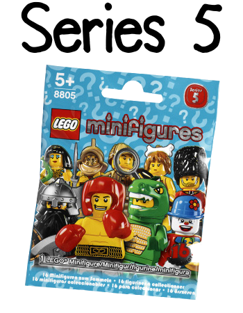 LEGO Minifigures Series 5 Packet