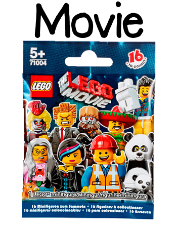 LEGO Minifigures The Movie Packet